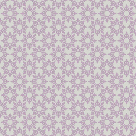 lacy: Retro floral seamless pattern.