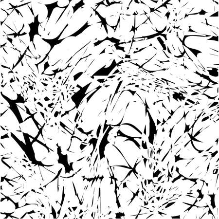 Black and white abstract background. Vector