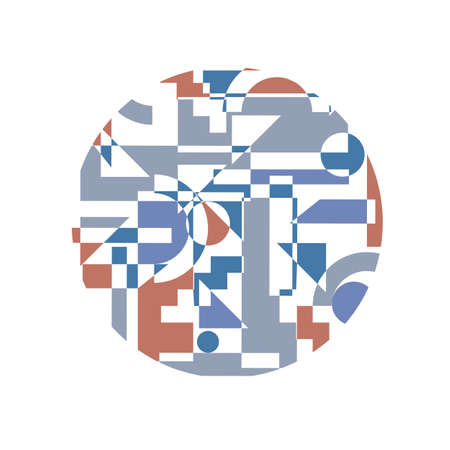 Abstract background in cubism style.  Vector
