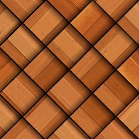 flooring design: Wooden background Illustration