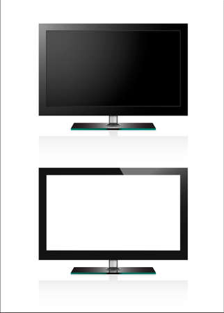 flat screen tv: Two TV flat screen lcd