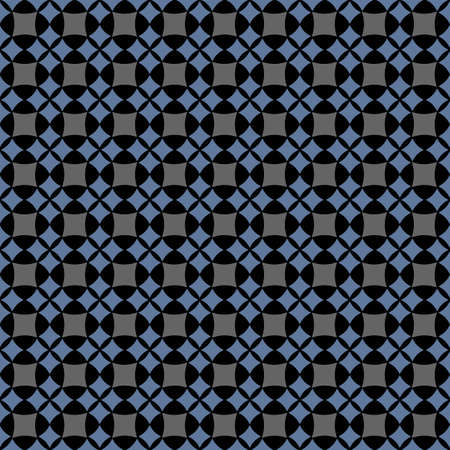 Dark seamless geometric pattern. Vector illustration Vector