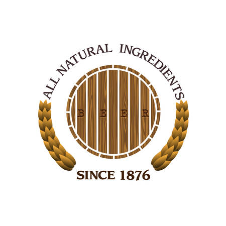 irish beer label: design beer label