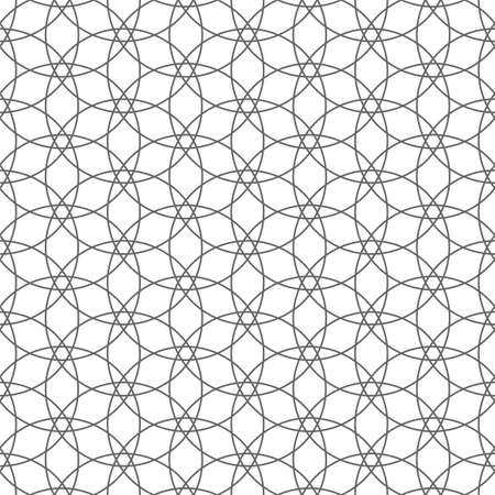 muslim pattern: Delicate seamless pattern. Vector background
