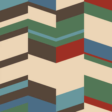 modernism: Retro geometric background.
