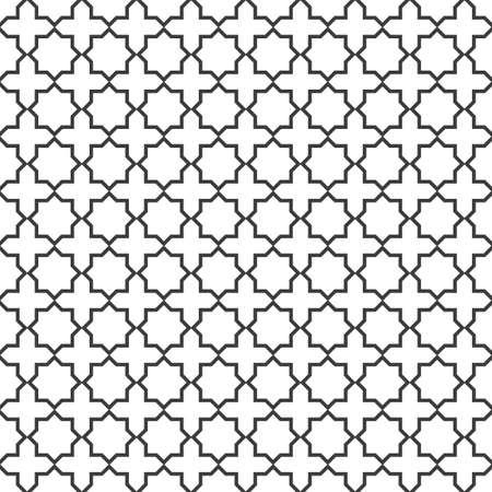 arabic motif: Seamless delicate pattern in islamic style.Vector EPS10