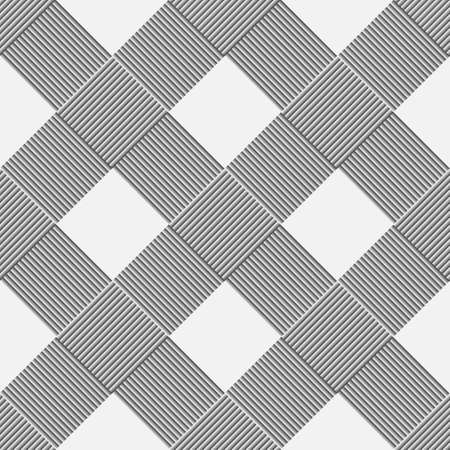 monochromatic: Monochrome background of diagonal pattern wickerwork.  Illustration