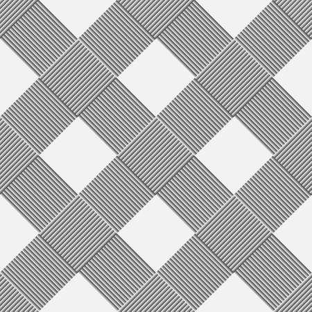 wickerwork: Monochrome background of diagonal pattern wickerwork.  Illustration