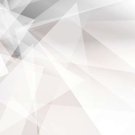 Grey abstract geometric background for design. Vector EPS10 Ilustração