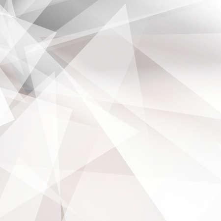 Grijze abstracte geometrische achtergrond voor design. vector EPS10 Stock Illustratie