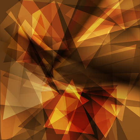 Brown geometric background for design.