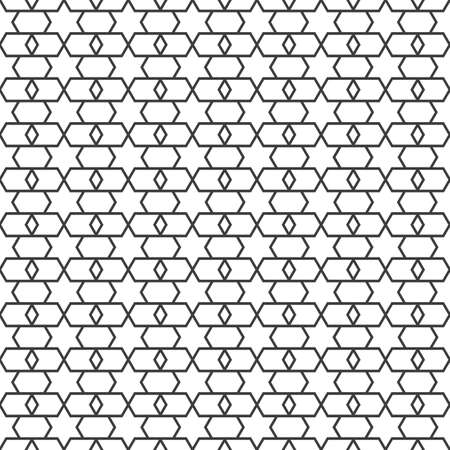delicate: Delicate Arabian seamless pattern with stars.