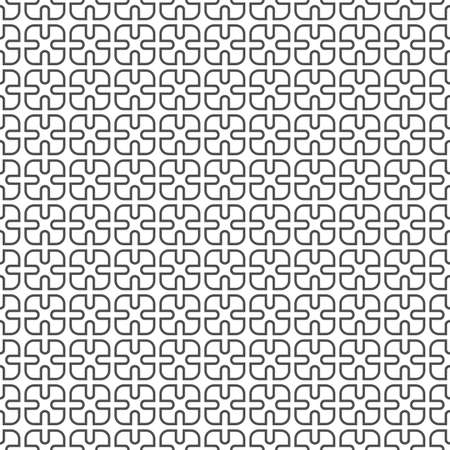 delicate: Delicate monochrome seamless pattern - variation 2.