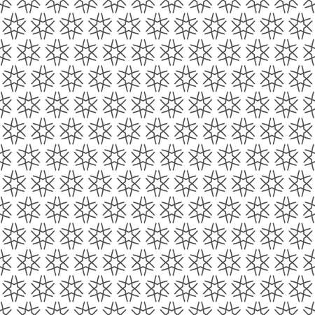 delicate: Delicate monochrome seamless pattern with stars.