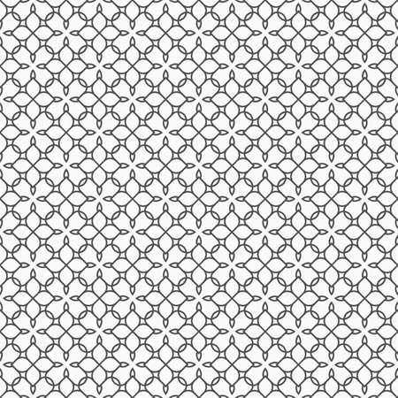 arabic motif: Delicate seamless pattern in oriental style - variation 5.