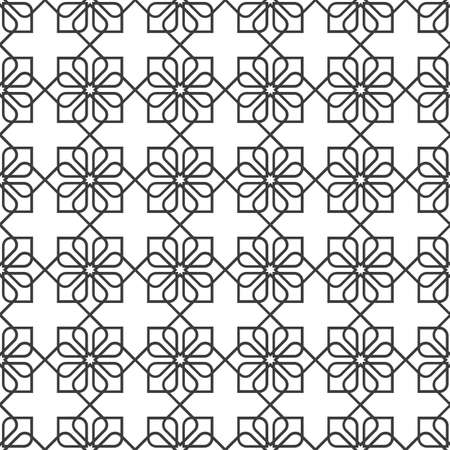 delicate: Delicate seamless pattern in oriental style - variation 2.