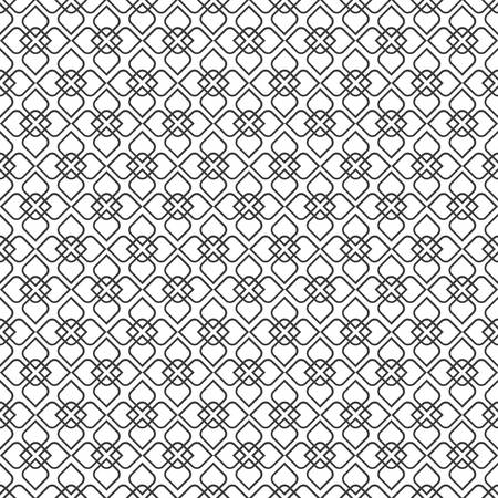 delicate: Delicate seamless pattern in oriental style - variation 3.