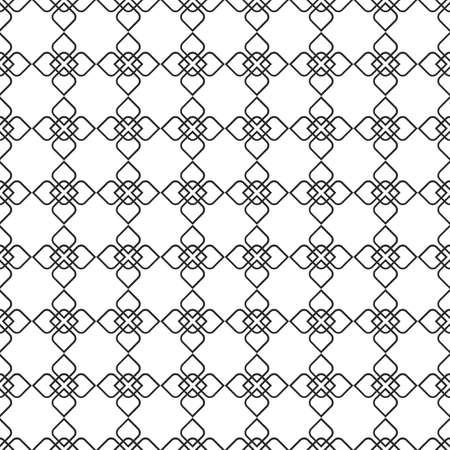 arabic motif: Delicate seamless pattern in oriental style - variation 6.