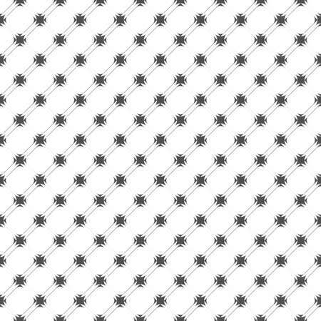 seamless pattern: Monochrome geometric seamless pattern. Illustration