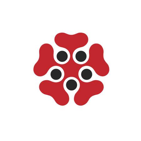 dea: Abstract flower - design element
