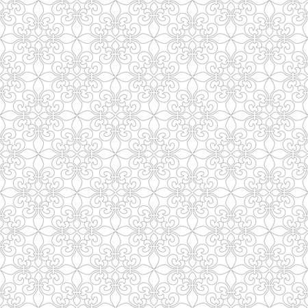 royal french lily symbols: Delicate seamless pattern with French Lilies. Vector background