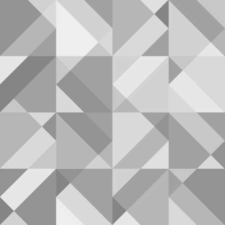 grey background: Abstract grey geometric seamless pattern. Vector background Illustration