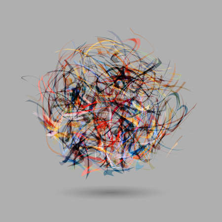 vector eps10: Abstract colorful ball. Vector EPS10
