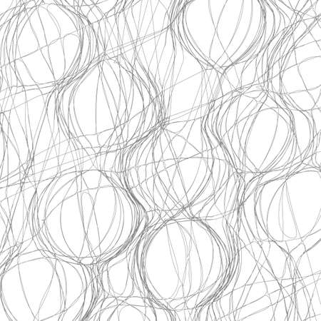 jumble: Tangled abstract monochrome background for design.Vector eps10 Illustration