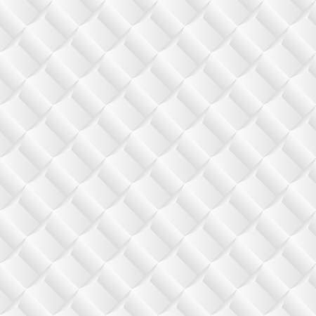 endless repeat structure: Diagonal white tile geometric background. Illustration