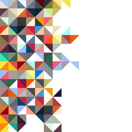 mosaic: Colorful mosaic background. Vector EPS10 Illustration