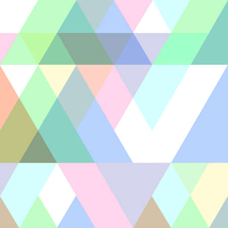 colors background: Geometric seamless pattern in pastel colors. Illustration