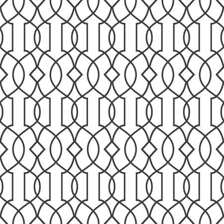 decorative design: Seamless pattern in islamic style - variation 2. Illustration
