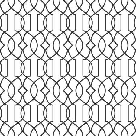 variation: Seamless pattern in islamic style - variation 2. Illustration