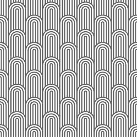 flaked: Monochrome striped flaked seamless pattern. Illustration