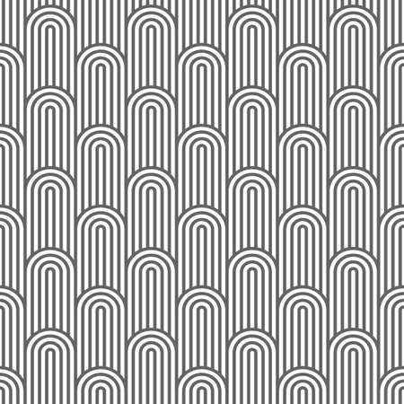 flaked: Monochrome striped flaked seamless pattern. Illustration