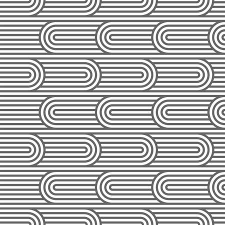 ripply: Striped curved seamless pattern.