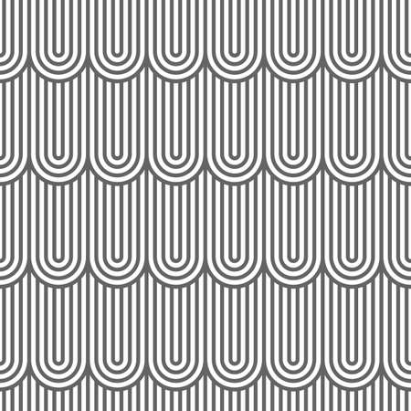 flaked: Striped flaked seamless pattern. Illustration