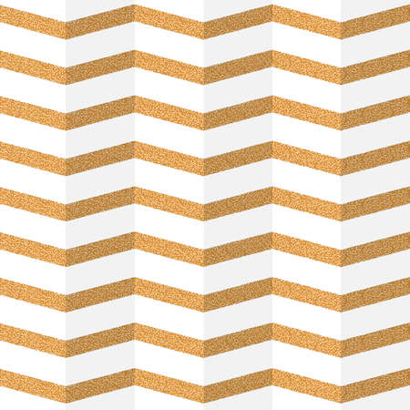 zag: Golden zig zag paper seamless pattern. Illustration