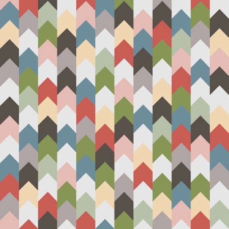 retro pattern: Abstract retro geometric seamless pattern with arrows.