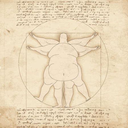 옛 화가에 의해 예술 작품의 개념적 현대 기초
