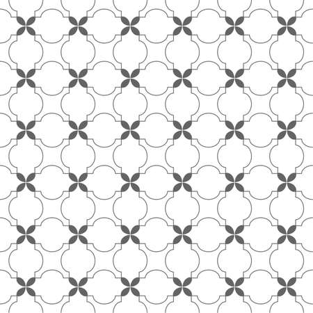 delicate arabic motif: Delicate seamless pattern in arabic motif. Illustration