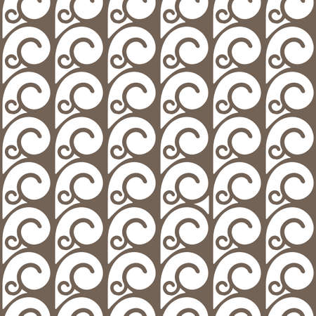 abstract swirls: Elegant seamless pattern with swirls. Abstract seamless ornament.