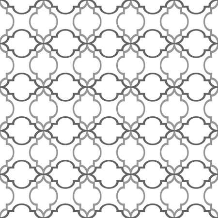 Seamless pattern in arabic style.