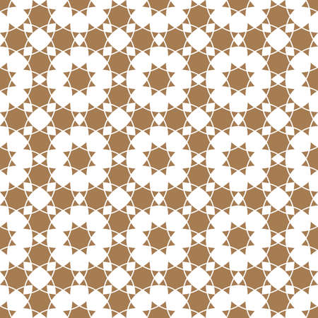 delicate arabic motif: Seamless flower pattern in ethnic style. Abstract seamless ornament.Vector background
