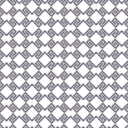 intricate: Black and white geometric intricate seamless pattern. Vector background