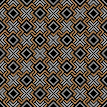 style geometric: Seamless geometric pattern in Celtic style. Vector Background