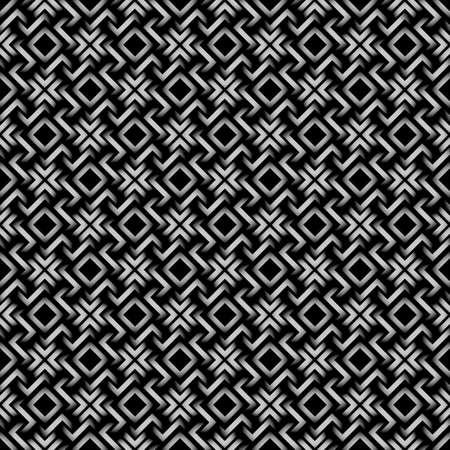 style geometric: Celtic style - 3d geometric seamless pattern.Vector Background