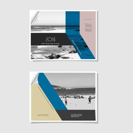 beach ad: Flyer or Cover Design, Design Template.