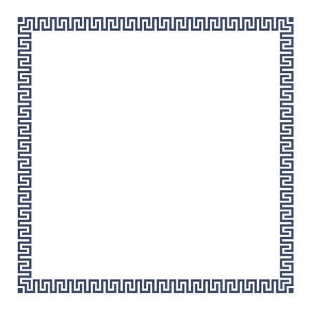 cadre décoratif grec simple pour la conception. Vecteurs