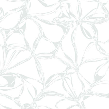 decorative design: Tangled Grey abstract monochrome background for design. Vector eps10